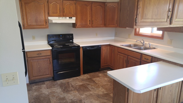 513 E 1st Duplex for Rent in Volga, SD - Kitchen