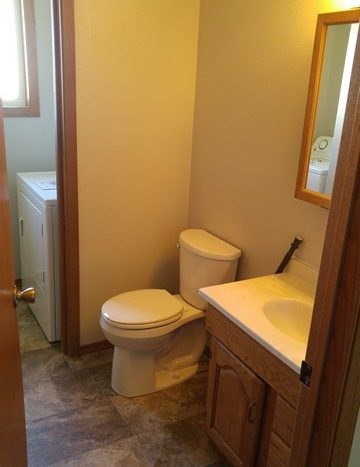 513 E 1st Duplex for Rent in Volga, SD - Upstairs Bath
