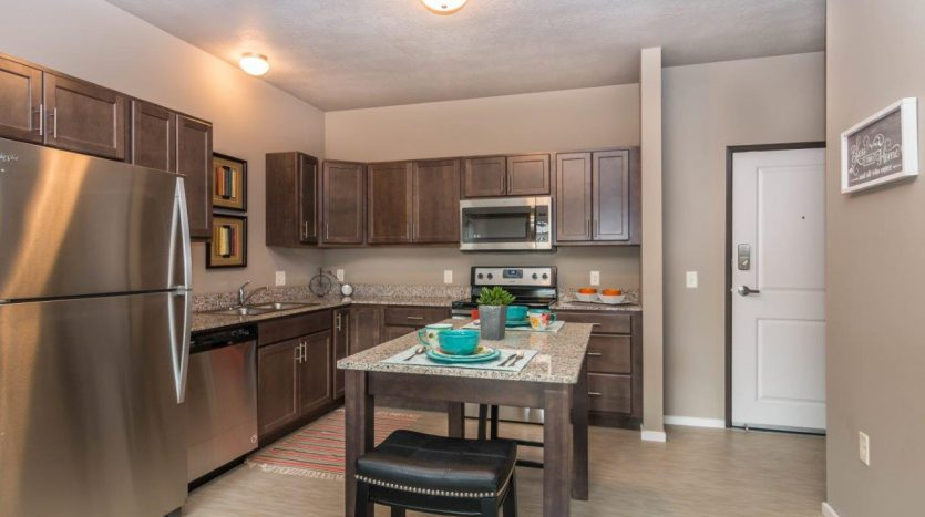 Edgerton Place Apartments in Mitchell, SD - Phase II Kitchen
