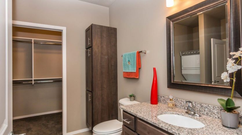 Edgerton Place Apartments in Mitchell, SD - Phase II Bathroom