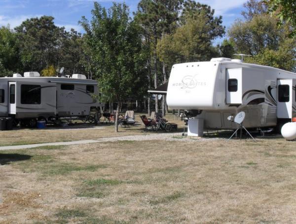 Sand Creek Mobile Home Park in Volga, SD
