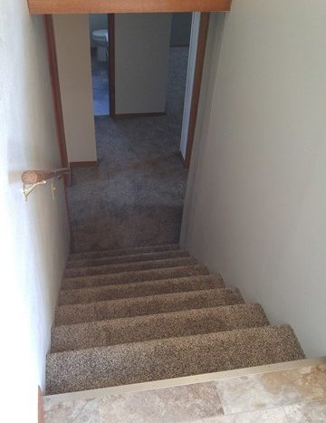 513 E 1st Duplex for Rent in Volga, SD - Stairway