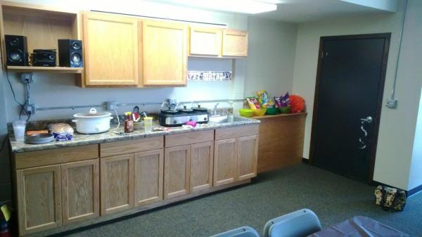 Downtown Lofts Meeting Space in Brookings, SD - Kitchenette