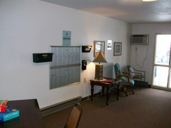 Friendship Circle Apartments in Milbank, SD - Entry/Mailboxes