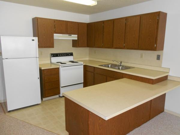 Downtown Manor Apartments in Webster, SD - Kitchen