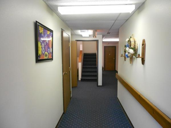 Downtown Manor Apartments in Webster, SD - Building Hallway