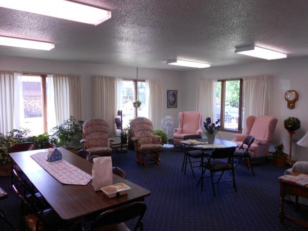 Downtown Manor Apartments in Webster, SD - Community Room