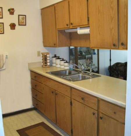 Country View Apartments in White, SD - Kitchen