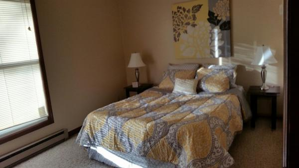 Canyon Ridge Apartments in Garretson, SD - Bedroom