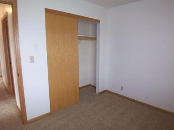Canyon Ridge Apartments in Garretson, SD - Bedroom Closet