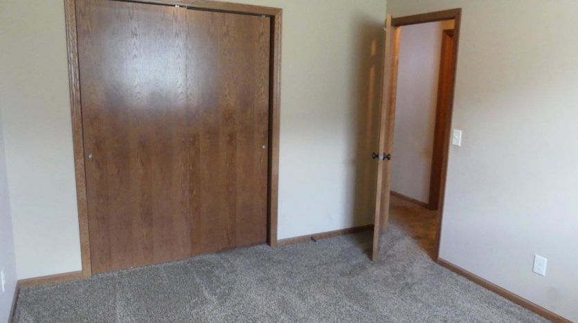 114 Brody Ave in Volga, SD - 3rd Bedroom Closet (Downstairs)