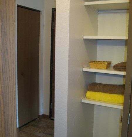 Huron Apartments in Huron, SD - Hallway Closet