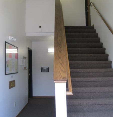 Huron Apartments in Huron, SD - Stairway
