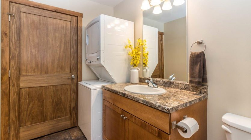 6th Street Centre Apartments in Brookings, SD - Full Sized Washer and Dryer