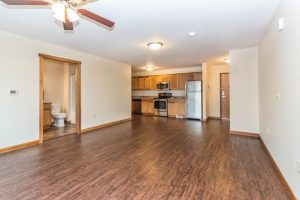 6th Street Centre Apartments in Brookings, SD - Studio Layout