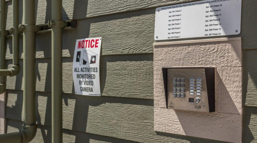 6th Street Centre Apartments in Brookings, SD - Secured Entry