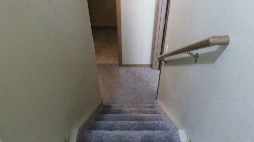 Sandpiper Townhomes in Brookings, SD - Lower Level Stairs