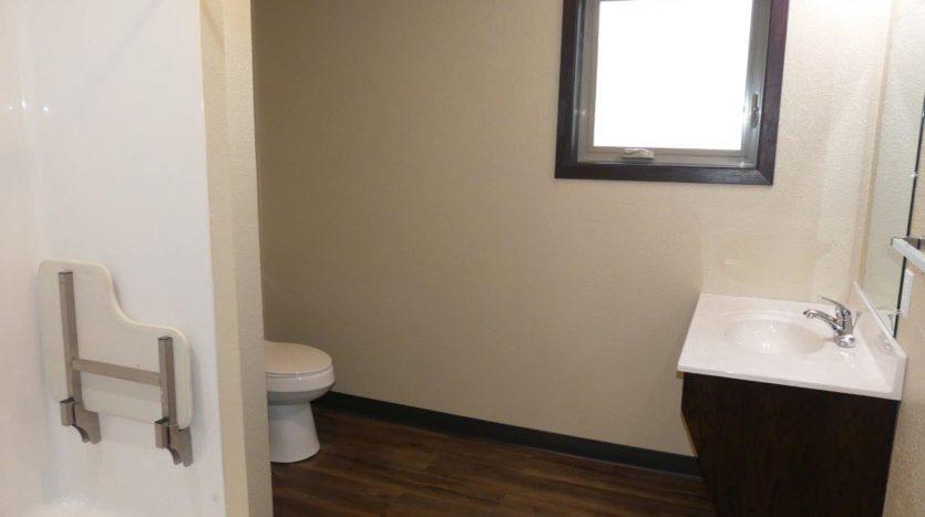Lakota Village Townhomes in Brookings, SD - Bathroom (1 Bedroom Unit)