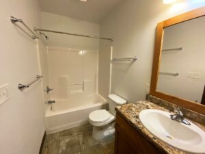 Downtown Lofts in Brookings, SD - 2 Bed Apartment Bathroom