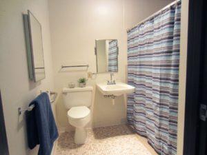Arrowhead Apartments in Brookings, SD - Bathroom