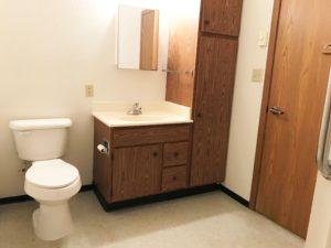 Courtyard Apartments in Huron, SD - Bathroom