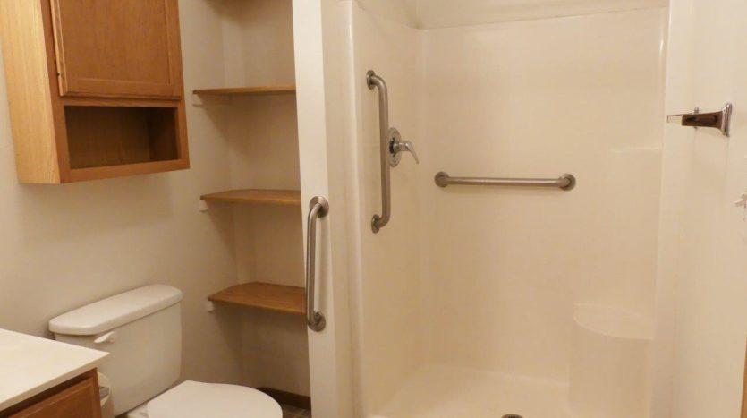 Sand Creek Apartments in Volga, SD - Bathroom Shower