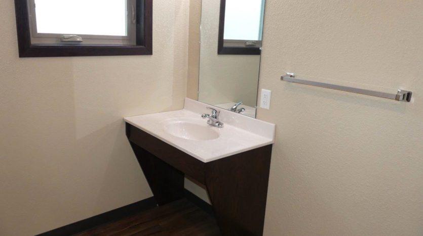 Lakota Village Townhomes in Brookings, SD - Bathroom Vanity (1 Bedroom Unit)