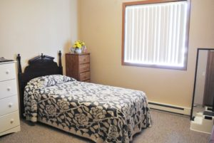 Lincoln Apartments I and II in Pierre, SD - Bedroom