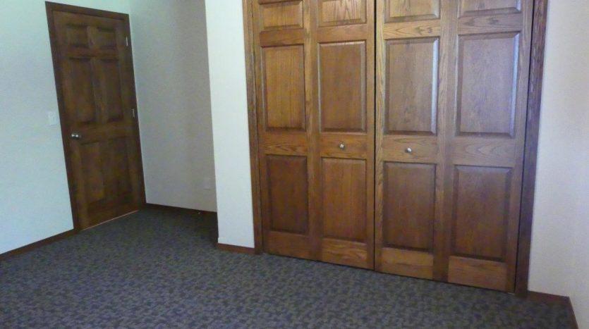 Ideal Twinhomes in Brookings, SD - 1 Bedroom Closet (Main Floor) Floor Plan A