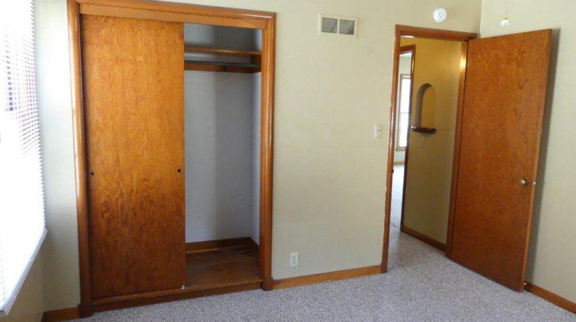 803 6th Street in Brookings, SD- 1st Bedroom Closet