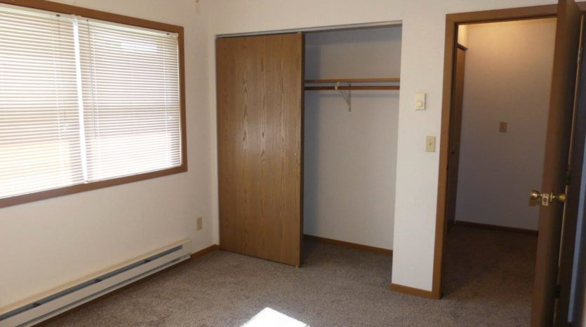 Pheasant Valley Courtyard Townhomes in Milbank, SD - Bedroom 1 Closet