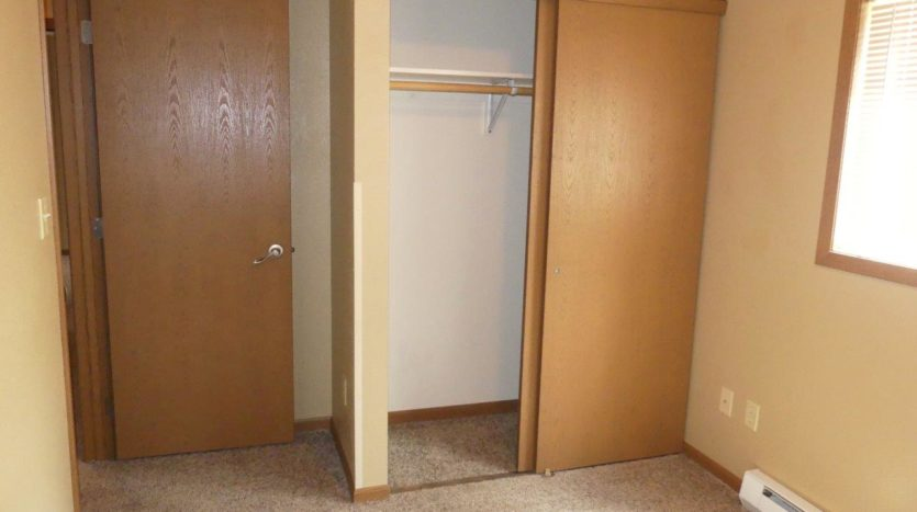 Sandpiper Townhomes in Brookings, SD - Bedroom 1 Closet