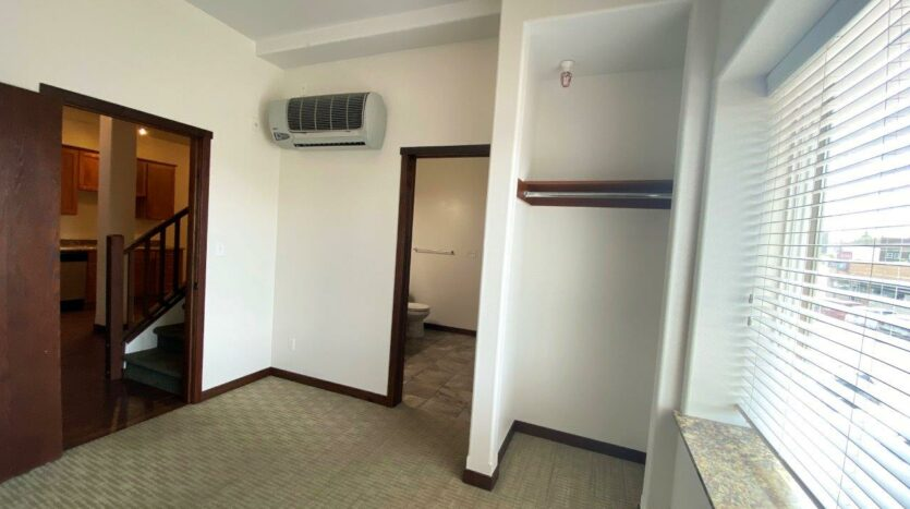 Downtown Lofts in Brookings, SD - 4 Bed Apartment Bedroom 1 Closet