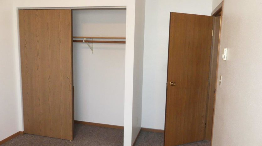Pheasant Valley Courtyard Townhomes in Milbank, SD - Bedroom 2 Closet