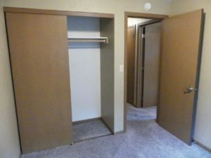 Sandpiper Townhomes in Brookings, SD - Bedroom 2 Closet