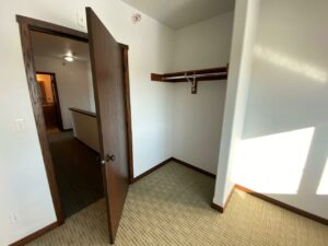 Downtown Lofts in Brookings, SD - 2 Bed Apartment Bedroom 2 Closet