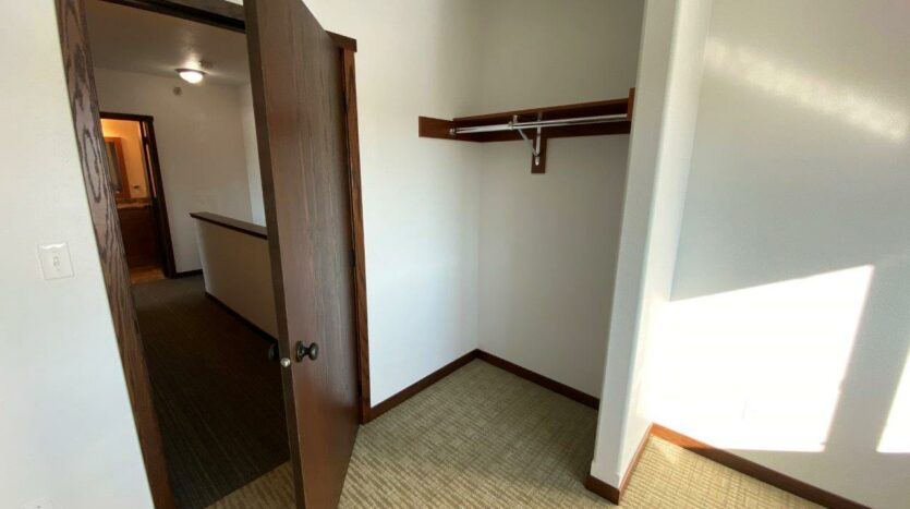 Downtown Lofts in Brookings, SD - Bedroom 2 Closet