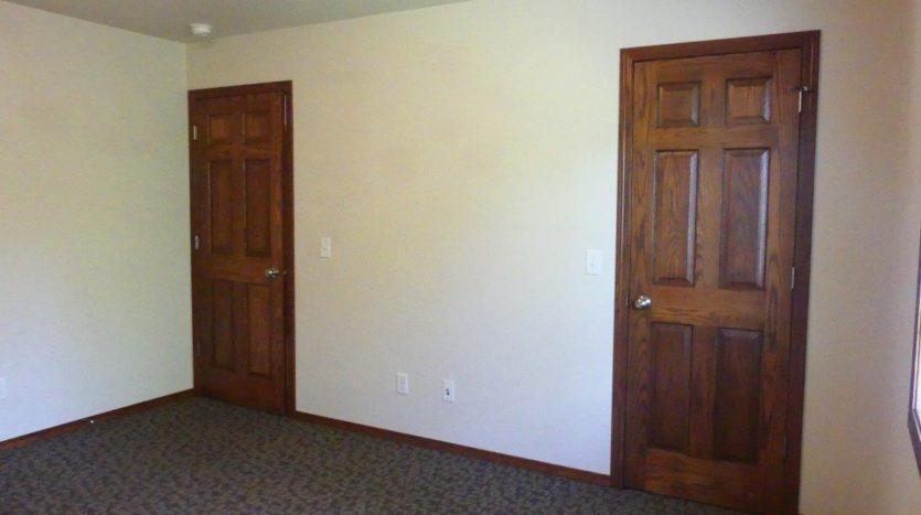 Ideal Twinhomes in Brookings, SD - 2 Bedroom Closet (Upstairs) Floor Plan A