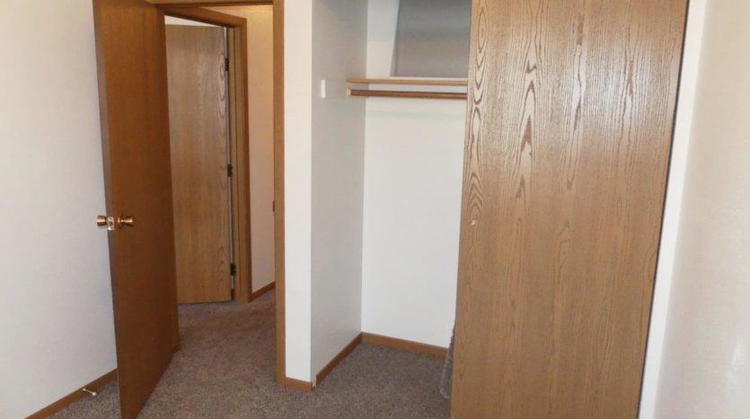 Pheasant Valley Courtyard Townhomes in Milbank, SD - Bedroom 3 Closet