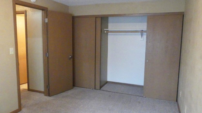 Sandpiper Townhomes in Brookings, SD - Bedroom 3 Closet