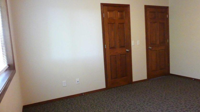 Ideal Twinhomes in Brookings, SD - 3 Bedroom Closet (Upstairs) Floor Plan A