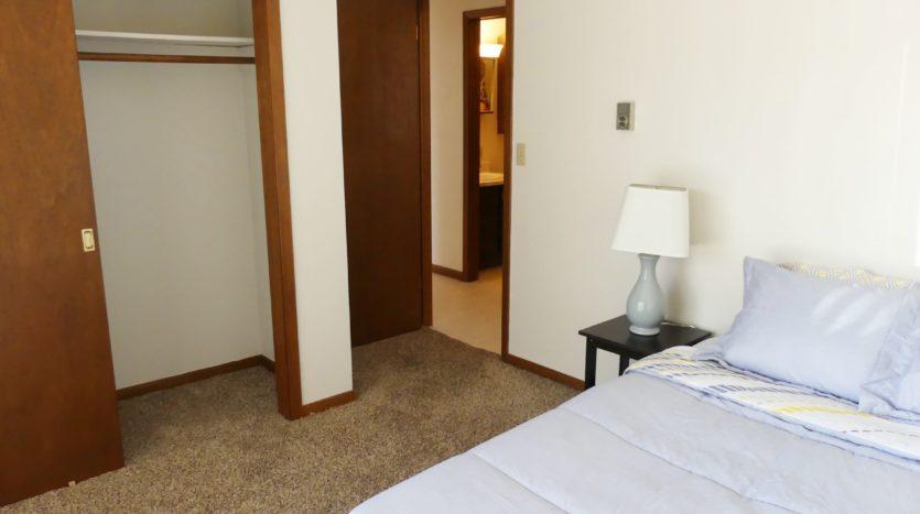 Grandview Apartments in Chamberlain, SD - Bedroom 1 Closet