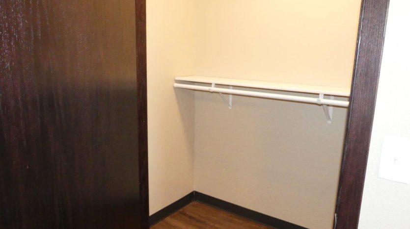 Lakota Village Townhomes in Brookings, SD - Bedroom Closet (1 Bedroom Unit)