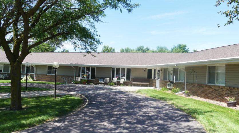 Friendship Village Senior Apartments in Dell Rapids, SD - Exterior