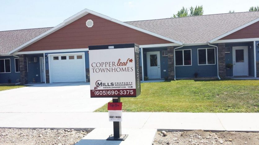 Copperleaf Townhomes in Mitchell, SD - Bedroom