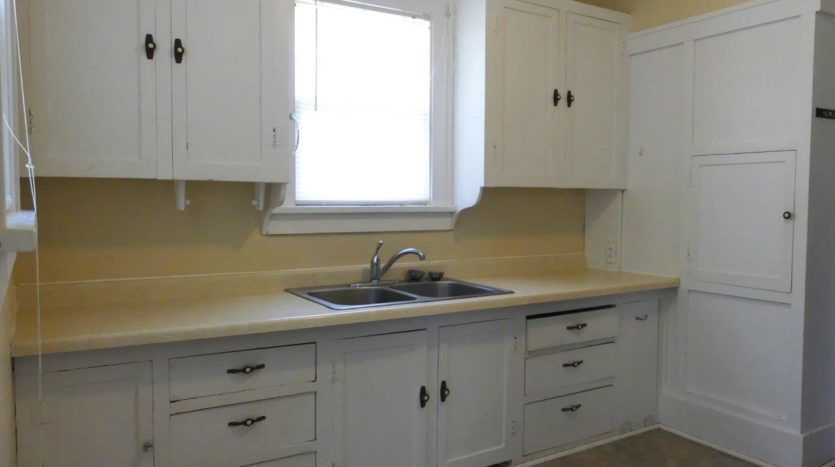 1211 4th Street in Brookings, SD - Kitchen Cabinets and Sink