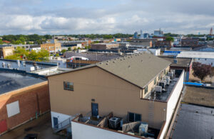 Downtown Lofts in Brookings, SD - Drone3