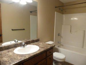 114 Brody Ave in Volga, SD - Downstairs Bathroom