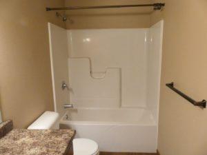 114 Brody Ave in Volga, SD - Downstairs Bathtub & Shower