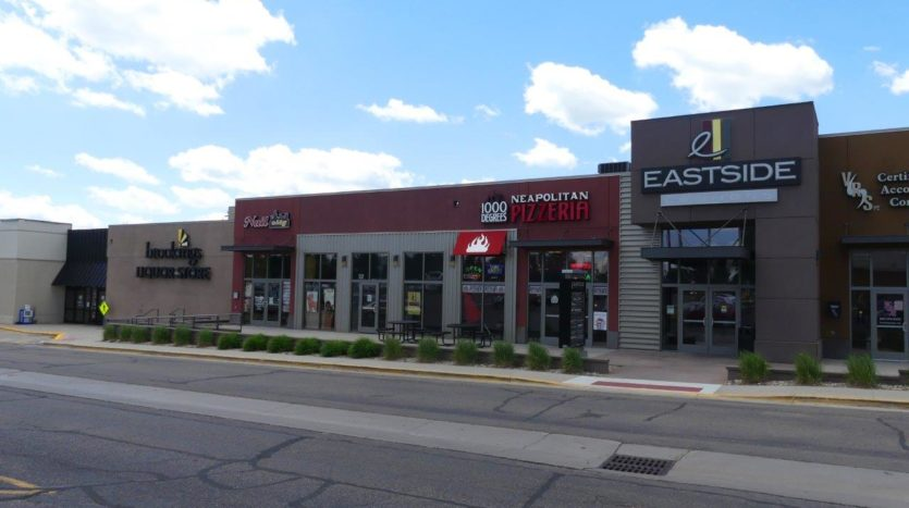 Eastside Commons in Brookings, SD - South Exterior